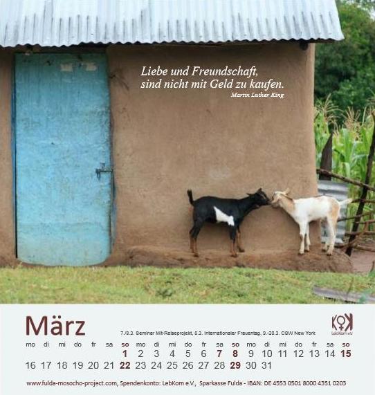 Kalender LebKom 2015 März